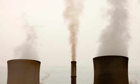 Coal-fired power emissions