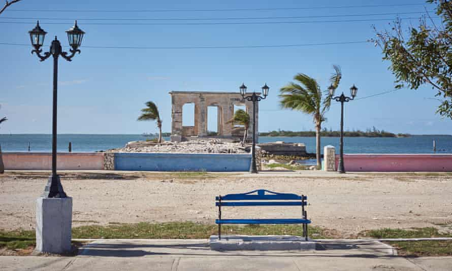 The ruined Customs House at Isabela de Sagua, Cuba
