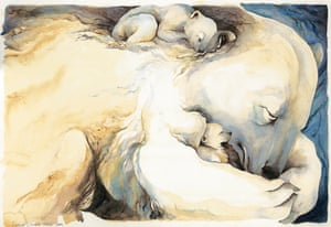 Snow bear babies
