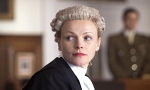 Maxine Peake as barrister Martha Costello in Silk.