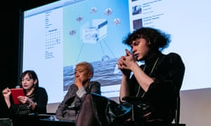 Big thinkers ... a panel debating the question: what can post-cyber feminism do for reproductive justice?