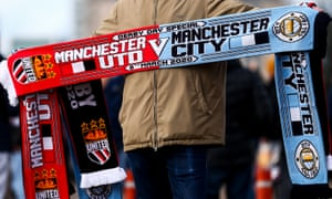United and City have helped food banks in Manchester.