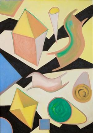 Chrissie Hynde's painting Dancing Noels.
