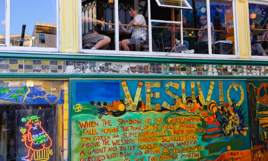 Vesuvio cafe in San Francisco, where some neighbourhoods strictly limit chain stores.