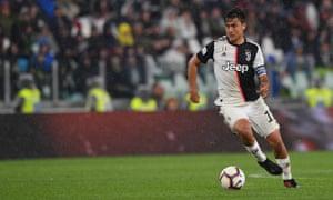 Paulo Dybala has been at Juventus since 2015.