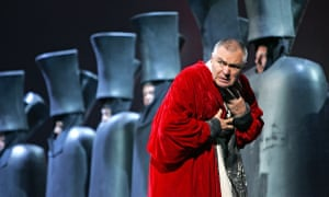 Vladimir Vaneev as the Tsar in Kirov Opera's production that was at the Royal Opera House in 2005.