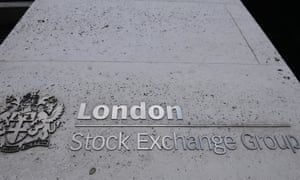 A general view of the London Stock Exchange in London.