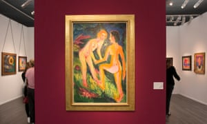 An Ernst Ludwig Kirchner at Frieze Masters.