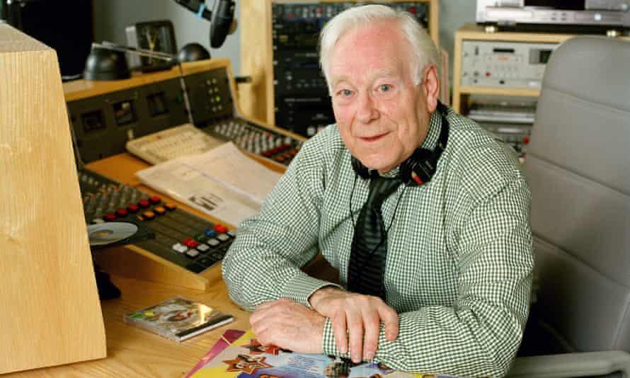 Desmond Carrington broadcast his BBC Radio 2 show from a studio in his Scottish home.