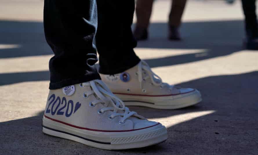 Kamala Harris's shoes.