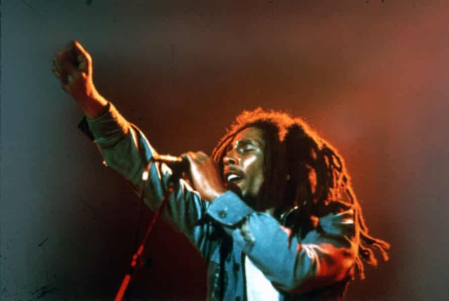 'Beautifully articulate' … Bob Marley.