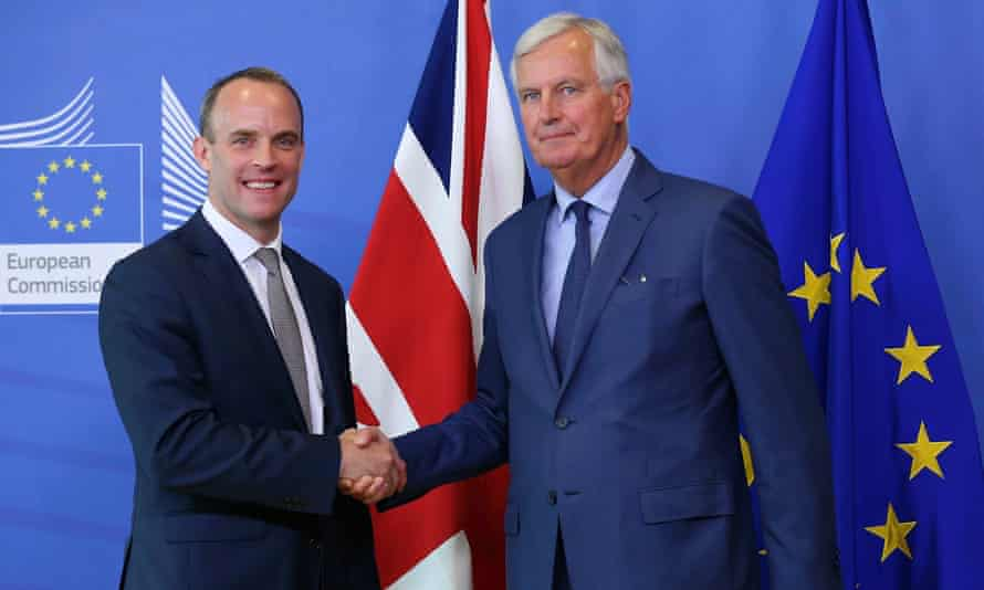 No deal is an outcome no one wants: Brexit secretary Dominic Raab and EU chief Brexit negotiator Michel Barnier on Friday.