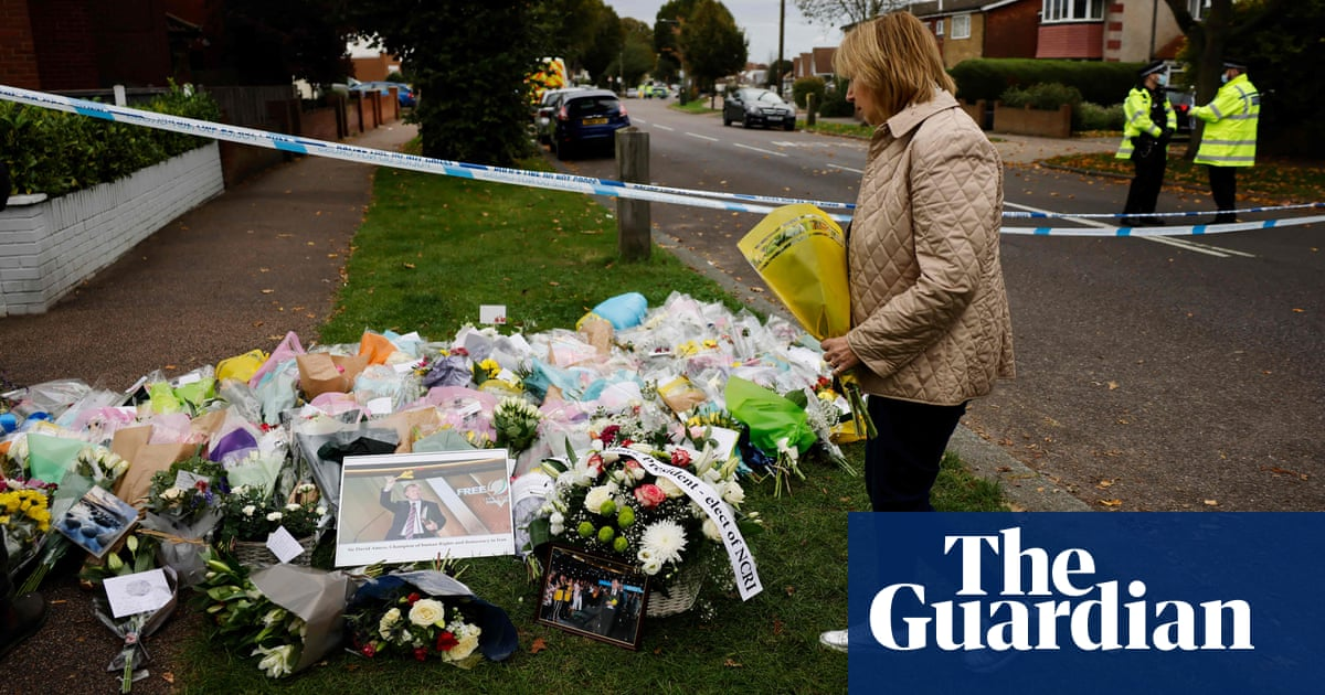 'It's such a senseless act': shock in Leigh-on-Sea at David Amess killing