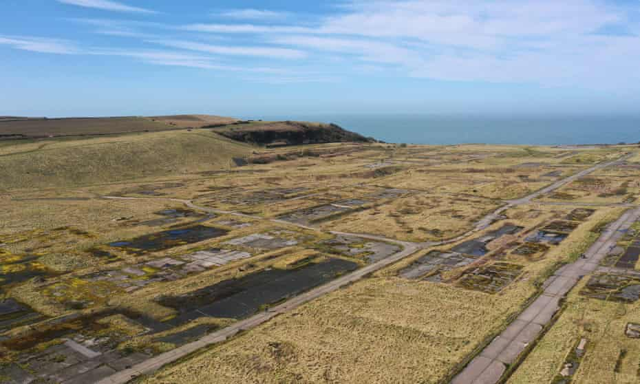The former Woodhouse colliery site where West Cumbria Mining is seeking approval to extract coal