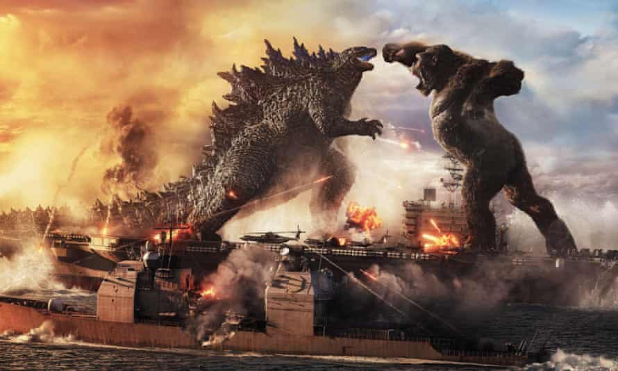 Godzilla vs. Kong raked in £206m worldwide in its opening days