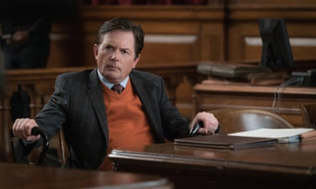 Michael J Fox in The Good Wife in 2015.
