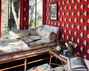 'A great place in which to be creative': garden room by Beata Heuman.