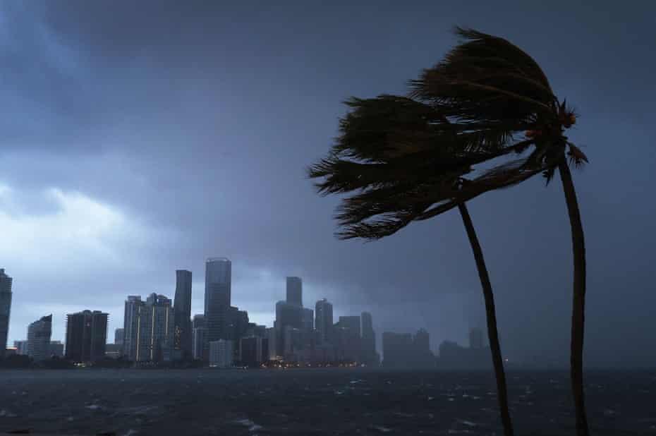 Hurricane Irma bears down on Florida.
