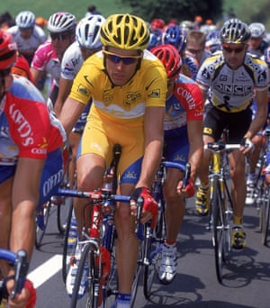 David Millar, seen here in 2000 sporting the yellow jersey, won four individual stages at the Tour de France.