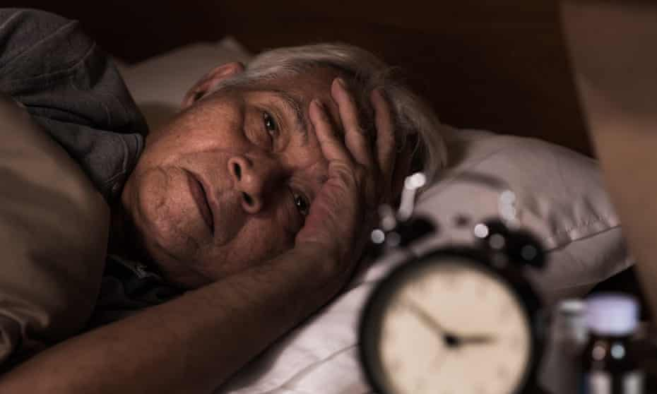 'If you find yourself waking regularly during the night, flag it with your GP so they can consider any possible underlying causes.'