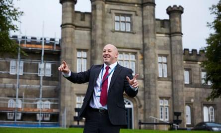 The Blue Coat school headteacher Rob Higgins