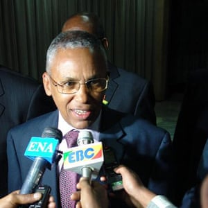 Somaliland's foreign minister, Saad Ali Shire