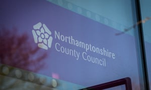 Northamptonshire country council was forced to impose emergency spending controls.