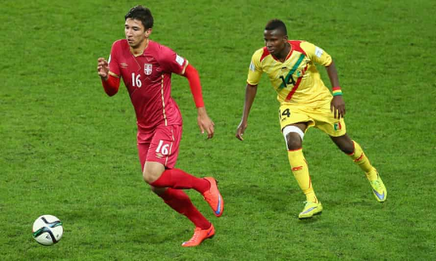 Internazionale had been the favourites to sign Marko Grujic, left.