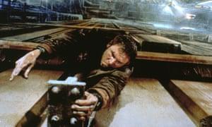 Harrison Ford in Ridley Scott's Blade Runner (1982).