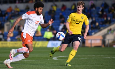 League One and Two: Blackpool and Newport step towards Wembley play-off