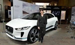 The electric Jaguar i-Pace