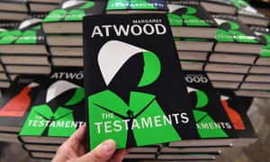 'She is a zeitgeist' … The Testaments launch in Waterstones in central London.