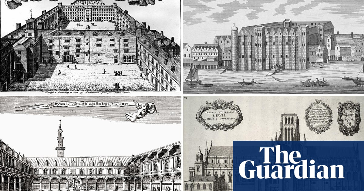 Lost in the Great Fire: which London buildings disappeared