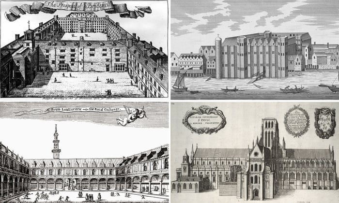 Lost In The Great Fire Which London Buildings Disappeared In The - 15 famous landmarks totally different perspective