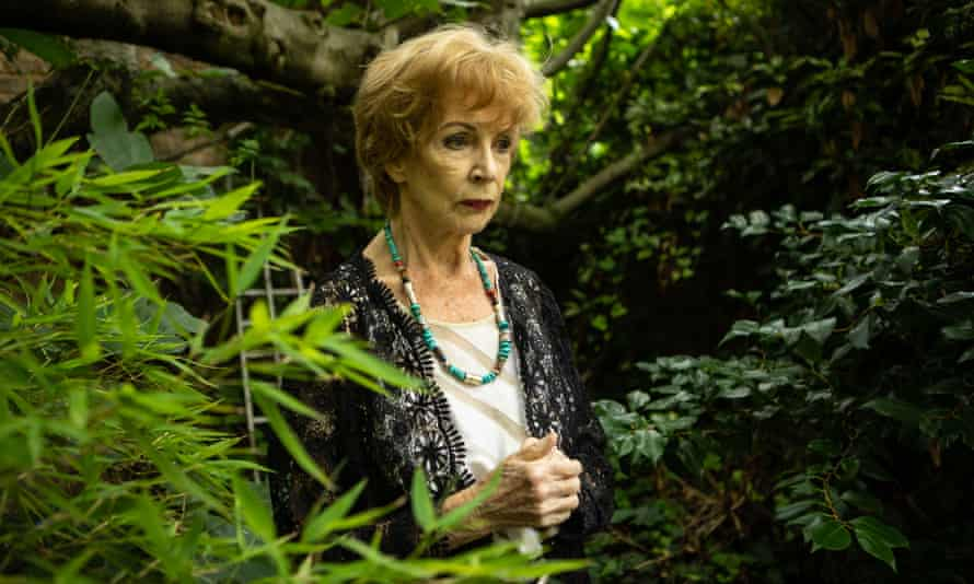 The Irish novelist Edna O'Brien photographed at her home in London in 2015.