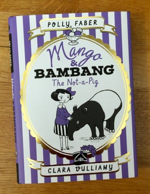 <strong>The Not-a-Pig </strong>is our first title in a new series from Walker books about the friendship between Mango Allsorts, a girl, and Bambang, an Asian tapir who has run away from his jungle home.