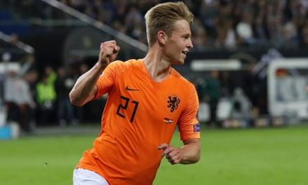 Frenkie De Jong leads the Netherlands' new generation of stars