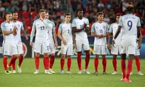 England Under-21s.