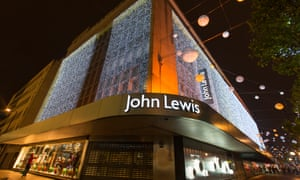 John Lewis store in Oxford Street, central London