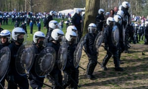 Fake festival 'La Boum' in Brussels.