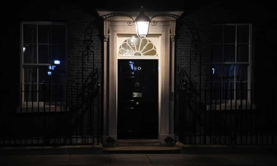 Door of 10 Downing St