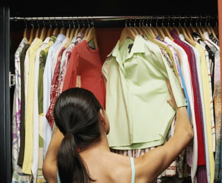 On average, each wardrobe in the UK contains 152 items, of which 57 are unworn.