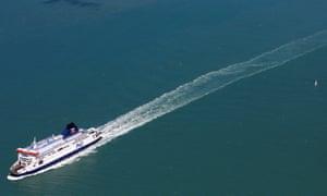 P&o ferry dover - calais