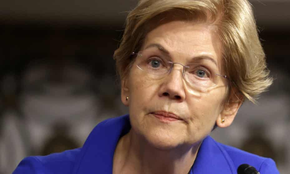 Senator Elizabeth Warren to Jerome Powell: 'Your record gives me grave concerns.'