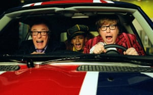 With Beyoncé and Mike Myers in Austin Powers in Goldmember.