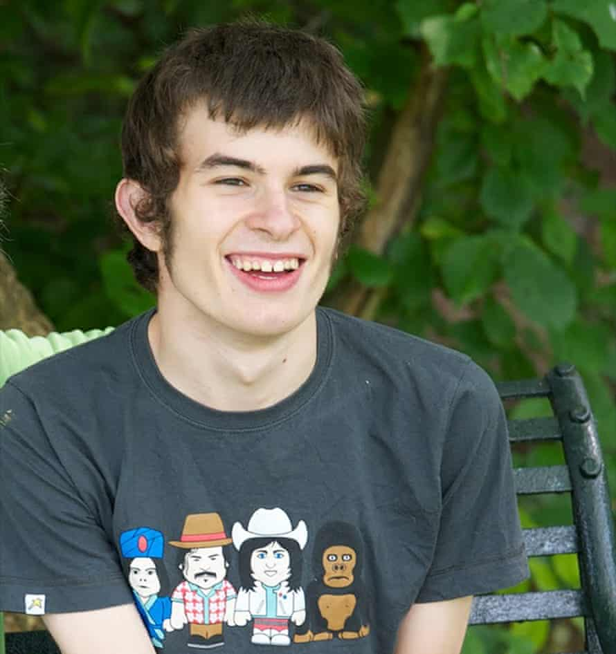 Sara Ryan's son, Connor Sparrowhawk, who drowned in an NHS hospital bath in 2013.