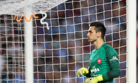 Vedran Janjetović repels abuse as Wanderers show signs of improvement