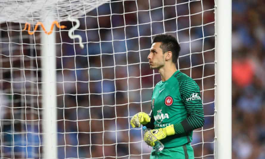 Vedran Janjetovic puts up with a few snakes on his return to Sydney FC.