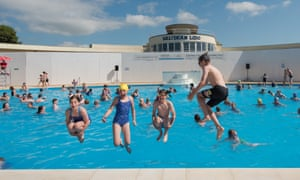 Saltdean Lido Reopens In Brighton Travel The Guardian