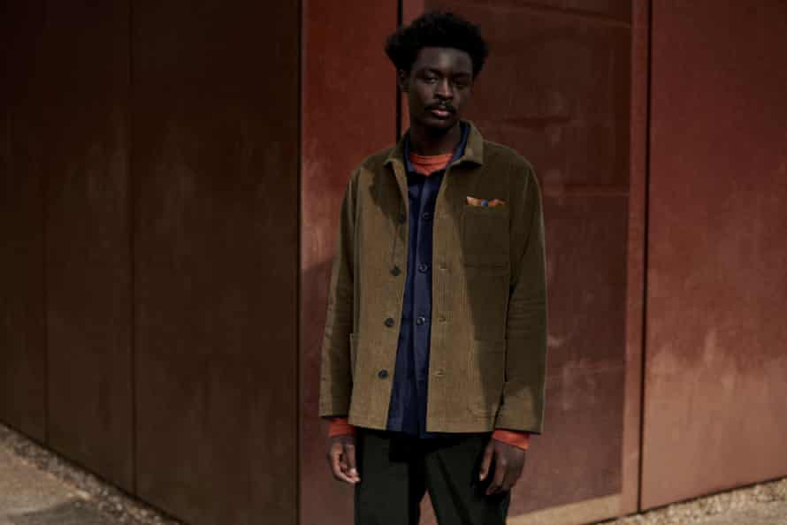 Autumn hues: textural layers and unexpected colour combinations in Toast's new menswear collection.